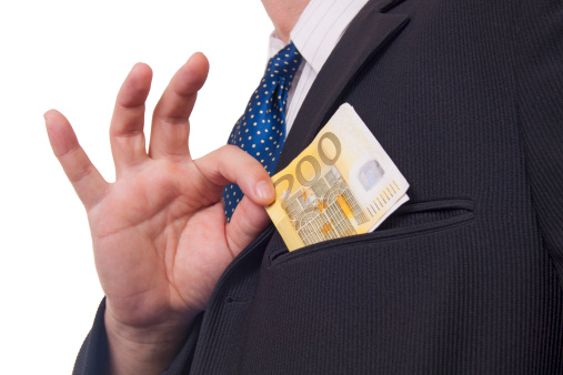 Lenen met melding nationale bank